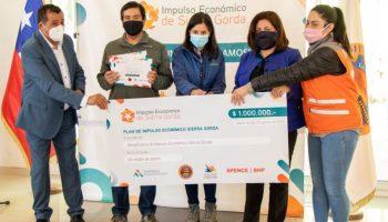 Antofagasta Minerals concreta importantes aportes para reactivación económica de los territorios