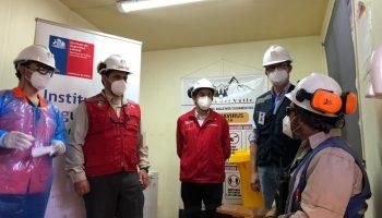 Inician búsqueda activa para detectar casos de Covid en los lugares de trabajo. Ministerio de minería.